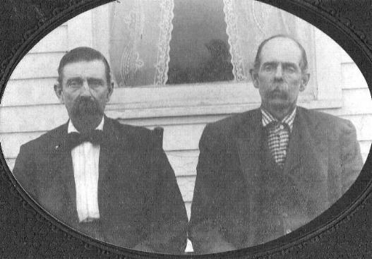 Silas Scott Hovious and his father, William Steel Hovious.